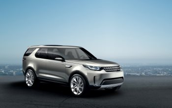 Wallpaper: Land Rover Discovery Vision Concept