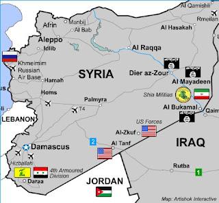 Al-Tanf area of Syria