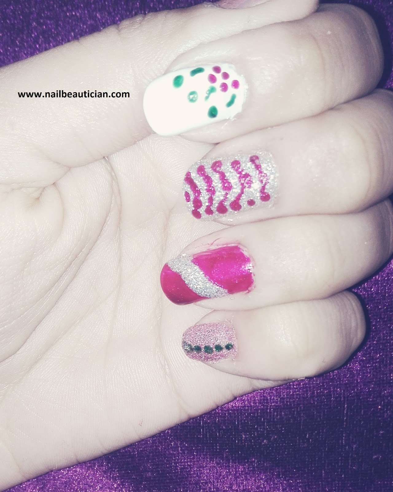 Nail Beautician: 5 Hot Nail Art Designs Without Using Any Tool