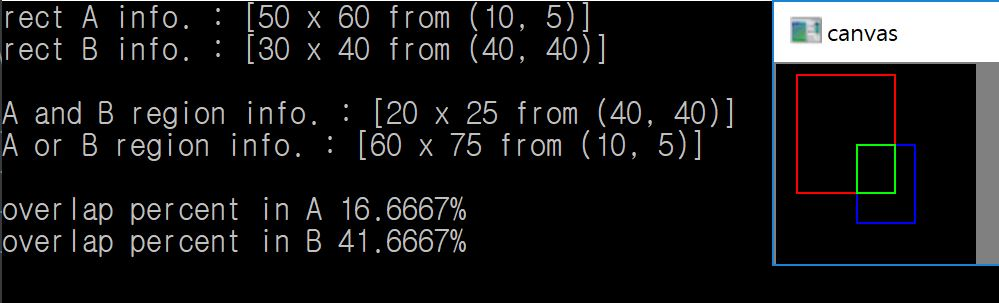 MARE's Computer Vision Study : openCV Tip, Calculate overlap