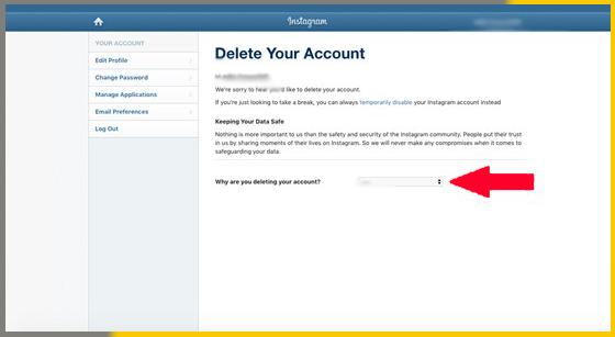 How to Delete Instagram Account From App | Instagram Account