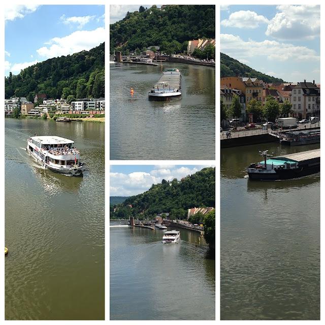Neckar River Boat Trip in Heidelberg