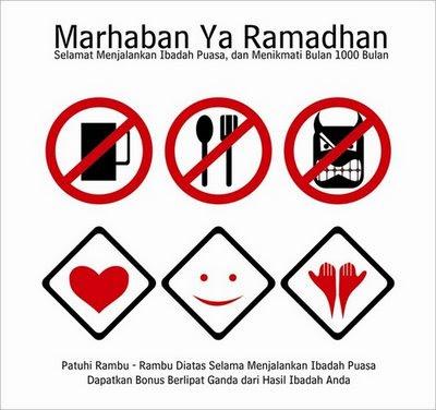 Sms Ucapan Menyambut Ramdhan 1437 H / 2016 M