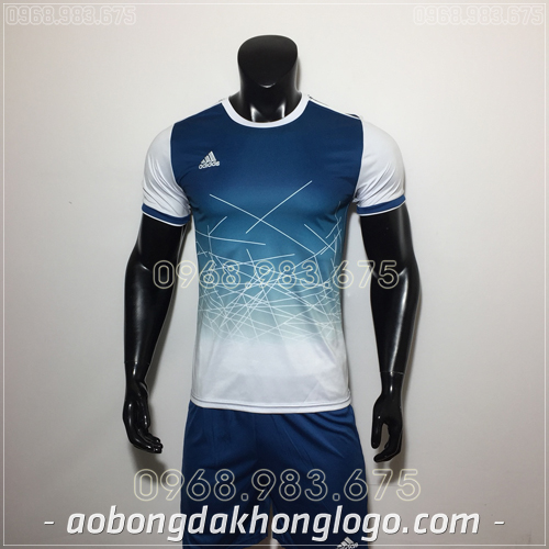 Áo Bóng Đá Ko Logo Adidas QT Tím Than