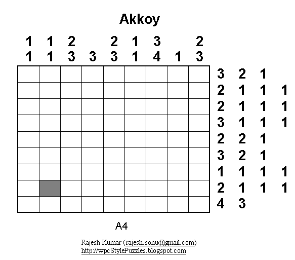 Akkoy: A4