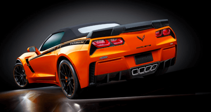 The 2019 Yenko Corvette Is A 1000 HP Tire-Scorcher Available Direct From Chevy Dealers