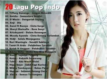 20 Lagu Pop Indonesia Terbaru 2017 Terpopuler Saat Ini