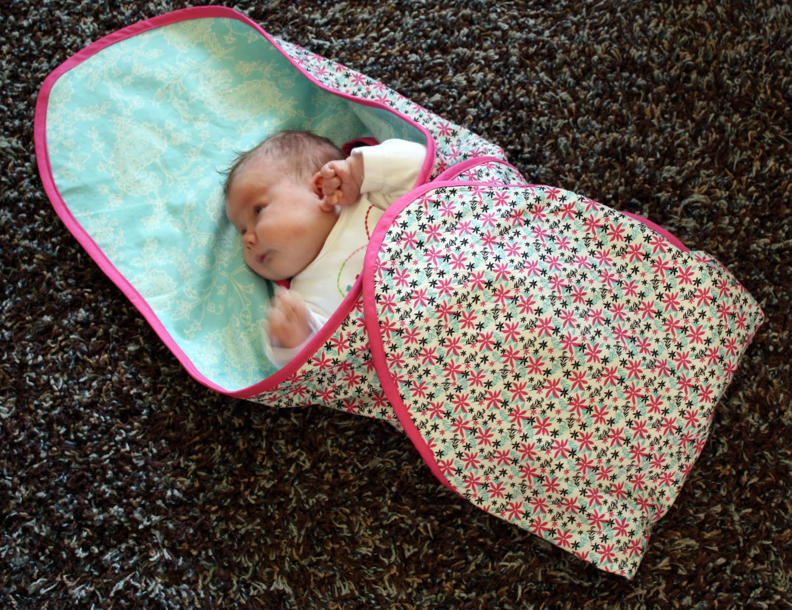Running With Scissors: Car Seat Blanket Gift