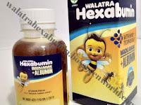 Walatra Hexabumin Madu alami + Albumin