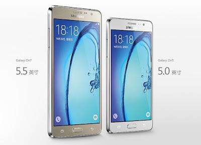 Samsung Galaxy On5 dan Galaxy On7 Akan Segera di Luncurkan