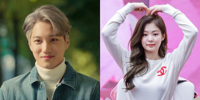 Kai EXO dan jennie BLACKPINK Putus, Bagaimana Reaksi Netizen?