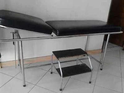 harga meja periksa pasien murah