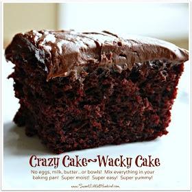 Woman To Woman Crazy Cake Wacky Cake