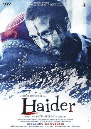 Haider 2014 Full Bollywood Hindi Movie Download BRRip 720p