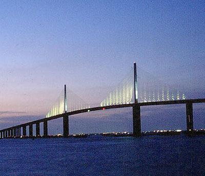 Sunshine Skyway Bridge Designer Figg And Muller Engineering Group