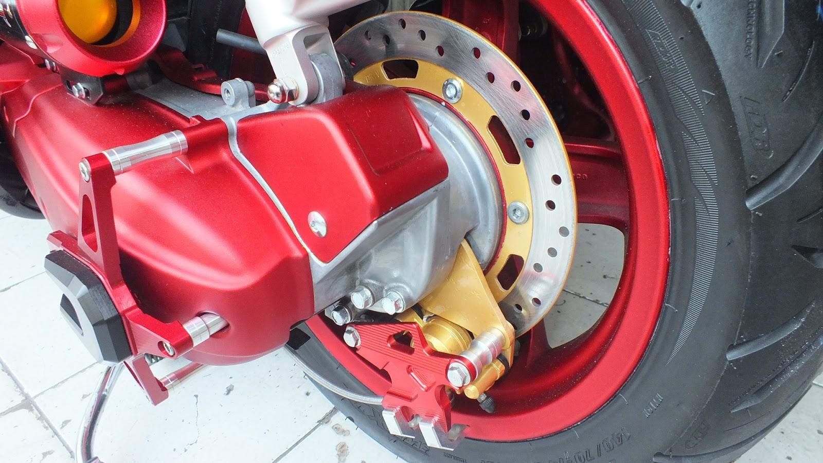 Modifikasi Motor Mio Cakram Belakang Pecinta Modifikasi