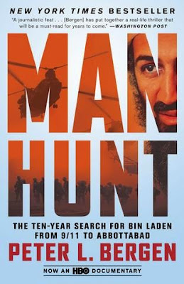 Manhunt: The Ten-Year Search for Bin Laden by Peter L. Bergen - book cover