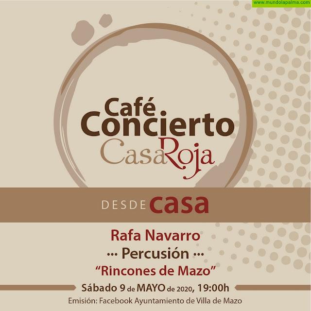 El ciclo 'Café-Concierto desde Casa' continúa con la percusión de Rafa Navarro