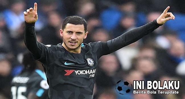 Hazard Bakal Kenakan Nomor Punggung 10 Di Madrid, Terus Modric Gimana?