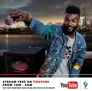 9Mobile Youtube streaming