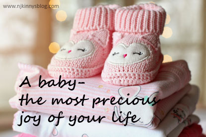 A baby - the most precious joy of your life- Everything to know about pregnancy on Njkinny's Blog