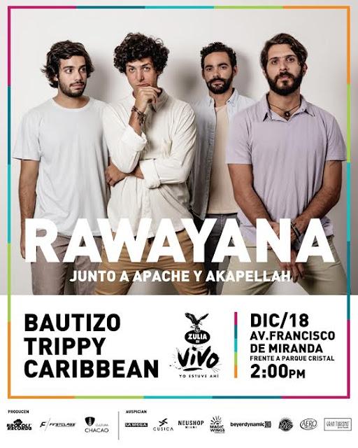 conciertos rawayana caracas