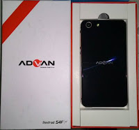 cara flash advan s4f