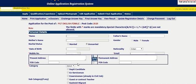 DSSSB Online Form 2021: Apply Online For 12000+ TGT, PRT & Other Posts_60.1