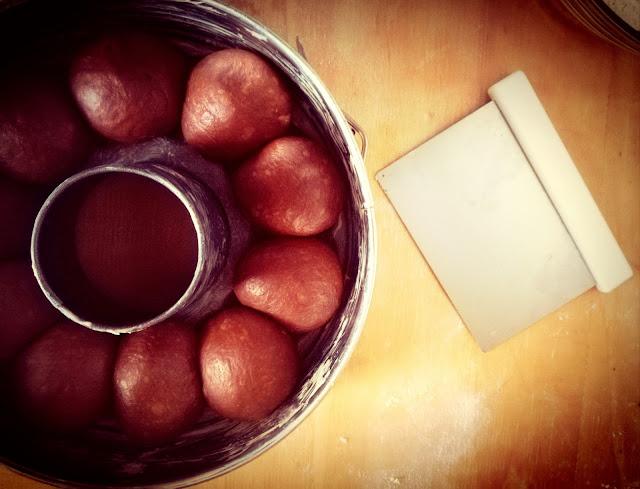 Baba' al cioccolato e amaretto
