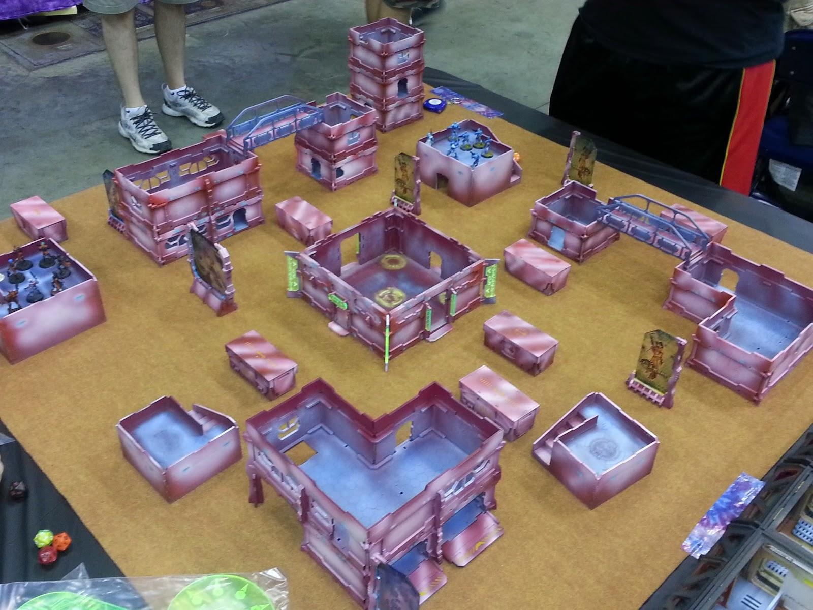 res nova: gencon infinity gaming tables