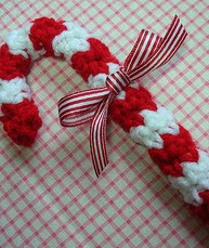 http://www.ravelry.com/patterns/library/candy-cane-christmas-ornament