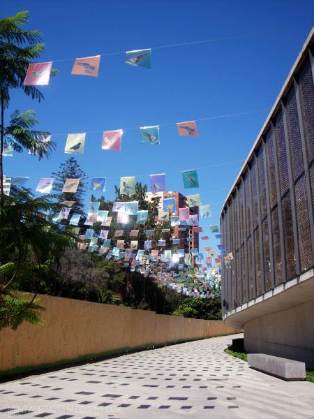 Entrada del Museo de Violeta Parra
