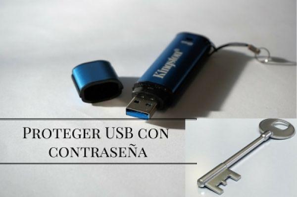 Cómo proteger tu memoria USB con contraseña