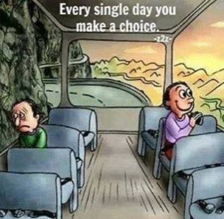 Kamu punya pilihan....