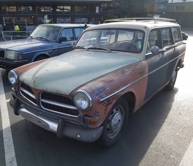 Daily Turismo: Thorsday Time Traveller: 1968 Volvo 122 Wagon