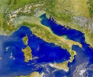 Cartina Italia Pianure.Guamodi Scuola Italia Mappa Riassuntiva Per La Iv Elementare