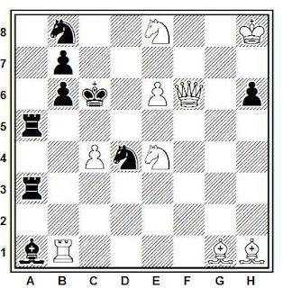 Problema de mate en 2 compuesto por Allard P. Eerkes (Association des problémistes belges, 1947)