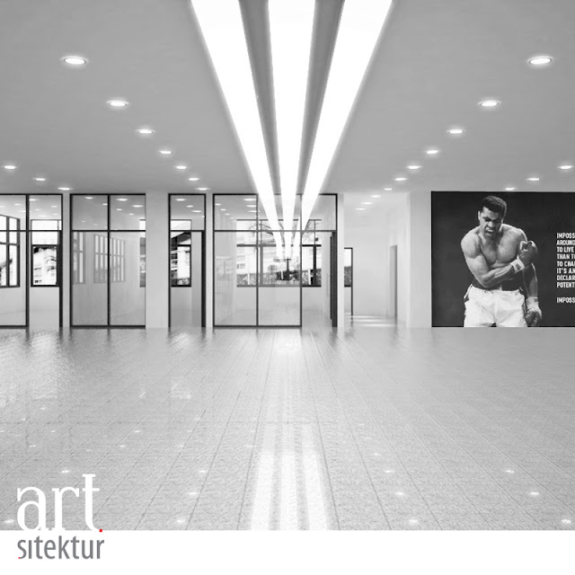 Adidas Shoe Factory Office Interior artsitektur