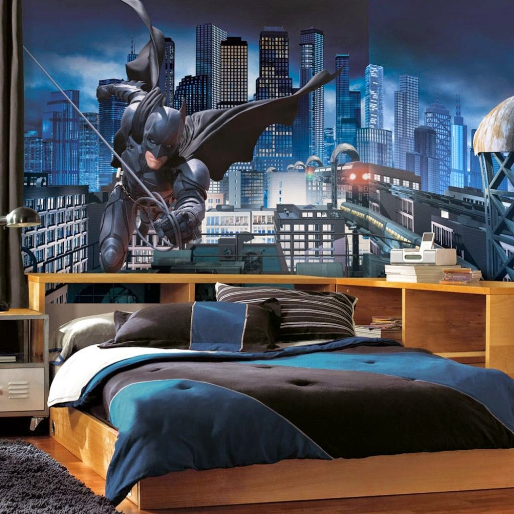 Cool Batman Boy Bedroom Idea Design Ideas