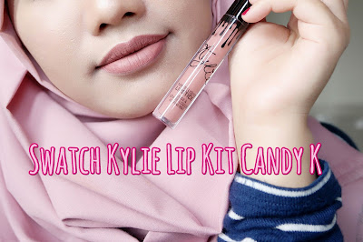 Review + Swatch: Kylie Lip Kit Shade Candy K