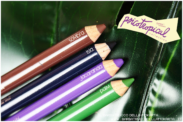 biopastello occhi eyepencil psicotropical collection neve cosmetics review