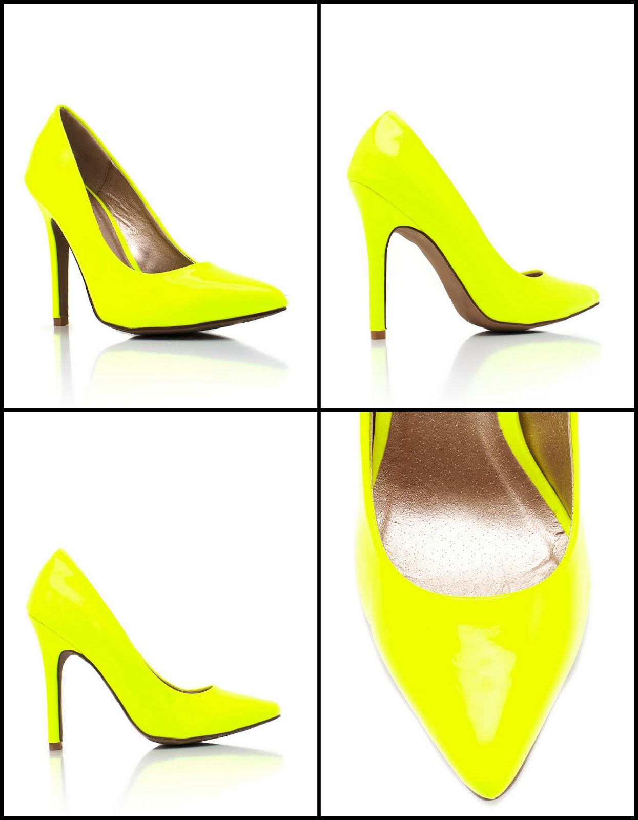 Shoe Crush of the Week: Neon Pumps! - Raliat Oyinlola