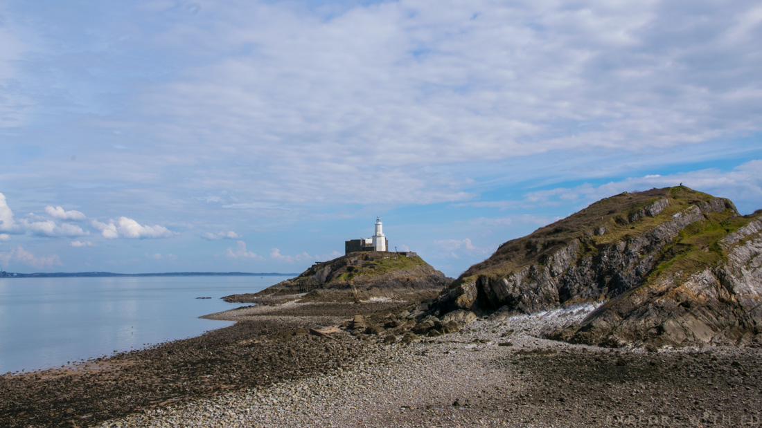 Mumbles Lighthouse Swansea