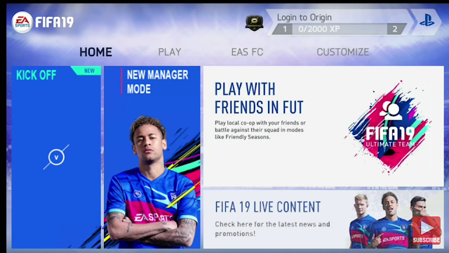 Download FIFA 19 Lates Mod Apk and Obb Data for Android   FIFA 19 MOD FIFA 14 Android Offline 1GB New Face Kits & Transfers Update Best Graphics