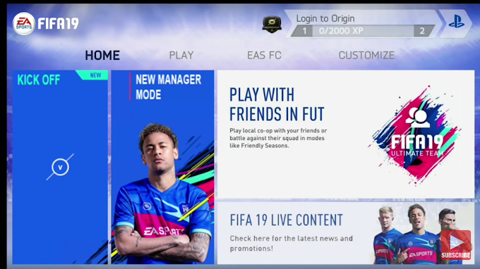 Download FIFA 19 Latest Mod Apk and Obb Data for Android  | FIFA 19 MOD FIFA 14 Android Offline 1GB New Face, Kits & Transfers Update Best Graphics