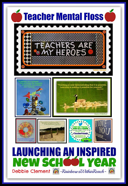 Teacher Mental Floss: Launching an Inspired New School Year {Pep Rally with Debbie Clement}