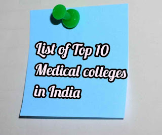 top 10 government medical colleges  India