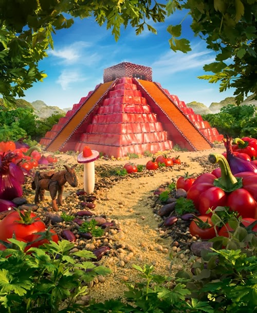06-The-Mayan-Pepper-Temple-Foodscapes-British-Photographer-Carl-Warner-Food- Vegetables-Fruit-Meat-www-designstack-co