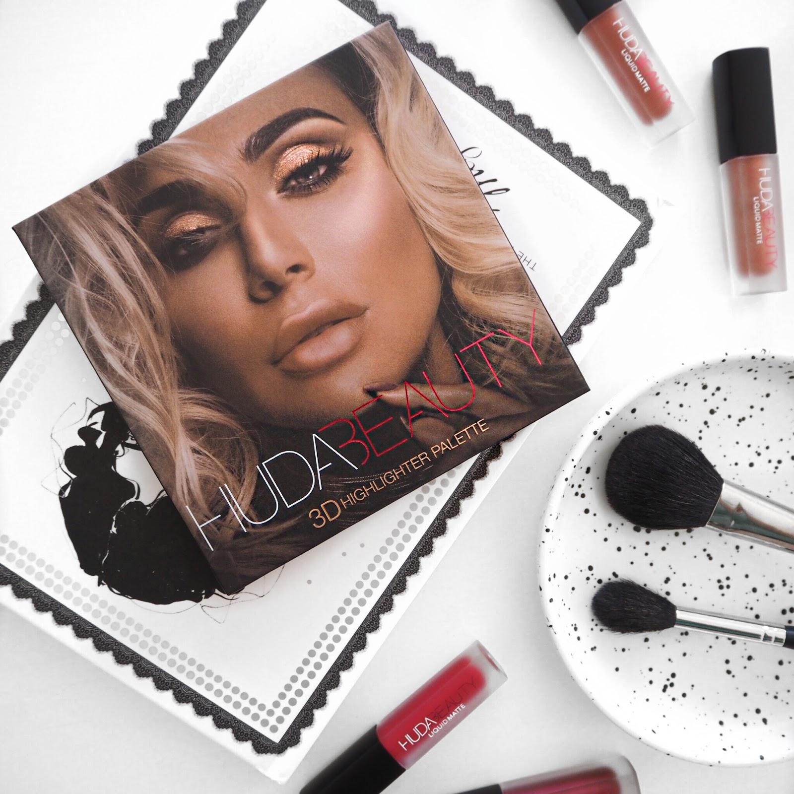 Huda Beauty 3D Highlighter Palette Review