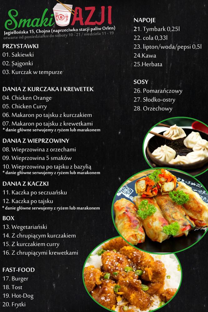 Smaki Azji Tu Zamowisz Pyszne Dania Kuchni Chinskiej I Typu Fast Food